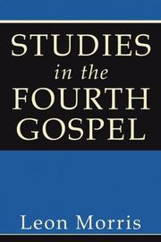 Cover of: Studies in the Fourth Gospel
