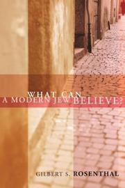 Cover of: What Can a Modern Jew Believe?