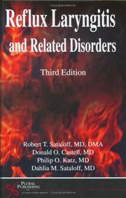 Reflux Laryngitis and Related Disorders, Third Edition by Donald Castell, Philip O., M.D. Katz, Dahlia M. MD Sataloff