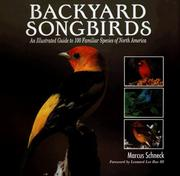 Cover of: Backyard songbirds