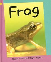 Cover of: Frog (Reading Corner: Grade 1) | Wade, Barrie.