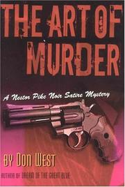 Cover of: The ART OF MURDER