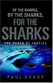 Cover of: Of the Sharks, By the Sharks, For the Sharks