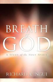 Cover of: Breath of God | Richard A. Ingui