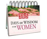 Cover of: 365 Days of Wisdom for Women (365 Days Perpetual Calendars)