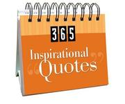 Cover of: 365 Inspirational Quotes (365 Days Perpetual Calendars)