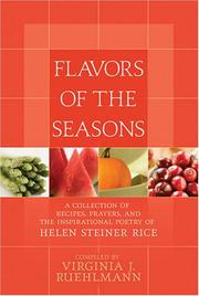 Cover of: Flavors of the Season