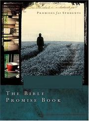 Cover of: BIBLE PROMISE BOOK FOR STUDENTS NLV GIFT (Bible Promise Books)