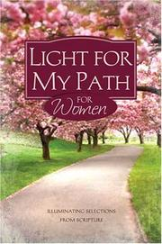 Cover of: LIGHT FOR MY PATH FOR WOMEN | Barbour Publishing
