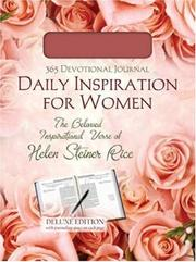 Cover of: DAILY INSPIRATION FOR WOMEN (365-Day Devotional Journals)