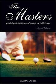 Cover of: The Masters | David Sowell