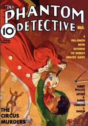 Cover of: Phantom Detective March 1936 | ROBERT, WALLACE