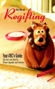 Cover of: The Art of Regifting