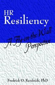 Cover of: HR Resiliency | Fredrick O. Kendrick Ph.D.