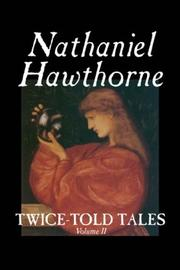 Cover of: Twice-Told Tales, Volume II