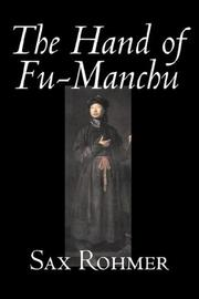 Cover of: The Hand of Fu-Manchu