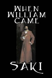 Cover of: When William Came | Saki