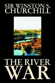 Cover of: The River War | Winston S. Churchill