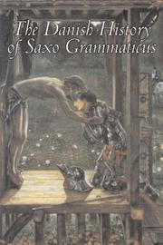 Cover of: The Danish History of Saxo Grammaticus
