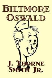 Cover of: Biltmore Oswald | Thorne Smith
