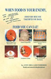 Cover of: Food You Can Eat! - When Food is Your Enemy | Judy, Delgado Noderer