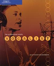 Cover of: The Professional Studio Vocalist | Claytoven Richardson