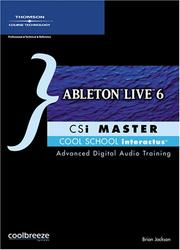 Cover of: Ableton Live 6 Csi Master