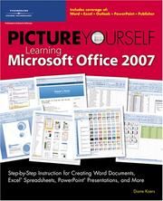 Cover of: Picture Yourself Learning Microsoft Office 2007