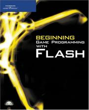 Cover of: Beginning game programming with Flash |