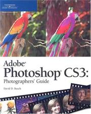 Cover of: Adobe Photoshop CS3 photographers guide