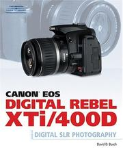 Cover of: Canon EOS Digital Rebel XTi/400D guide to digital SLR photography