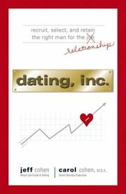 Cover of: Dating, Inc. | Jeff Cohen