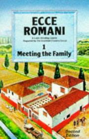 Cover of: Meeting the Family (Ecce Romani)