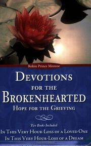 Cover of: Devotions for the Brokenhearted