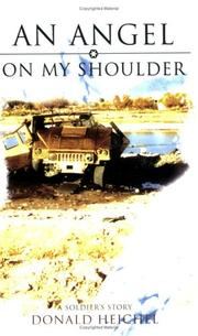 Cover of: An Angel on My Shoulder | Donald Heichel