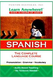 Learn Anywhere! Spanish on Playaway by Henry N. Raymond