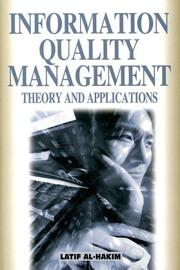 Cover of: Information Quality Management | Latif Al-hakim