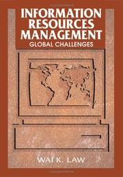 Cover of: Information Resources Management | Wai K. Law