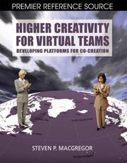Cover of: Higher Creativity for Virtual Teams |