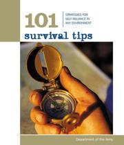 Cover of: 101 Survival Tips | Department of the Army