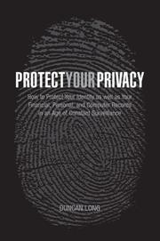Cover of: Protect Your Privacy