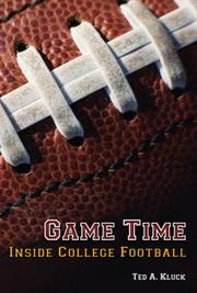 Cover of: Game Time | Ted A. Kluck