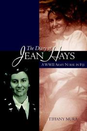 Cover of: The Diary of Jean Hays | Tiffany Mura