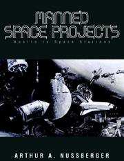 Cover of: MANNED SPACE PROJECTS - Apollo to Space Stations | Arthur A. Nussberger