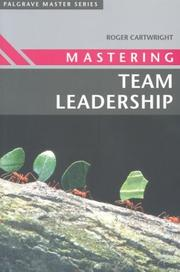 Cover of: Mastering Team Leadership (Palgrave Master Series)
