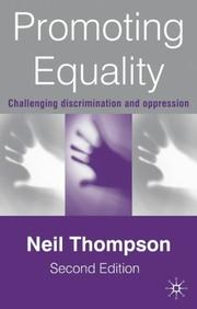 Cover of: Promoting equality