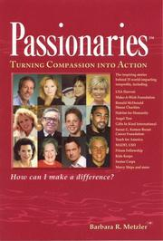 Cover of: Passionaries | Barbara R. Metzler