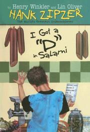 "Cover of: I Got a ""D"" in Salami (Hank Zipzer; The World's Greatest Underachiever (Spotlight))"
