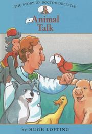 Cover of: Animal Talk (Story of Doctor Dolittle)