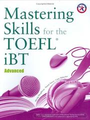 Cover of: Mastering Skills for the TOEFL iBT